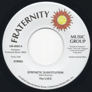 "Image of Synthetic Substitution - 7"" Vinyl Re-Issue"