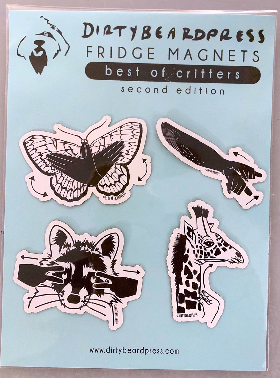 Image of Best of Critters Magnets: Second Edition