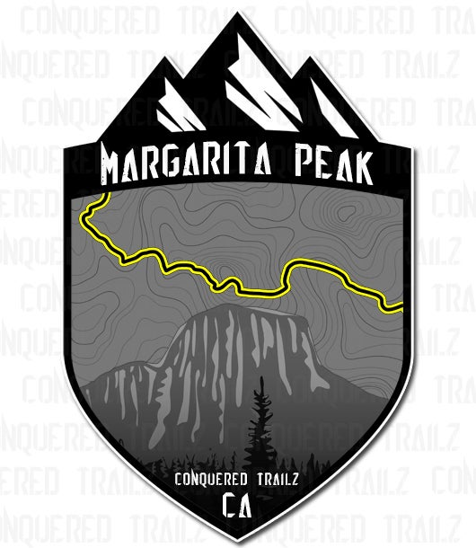 "Image of ""Margarita Peak"" Trail Badge"