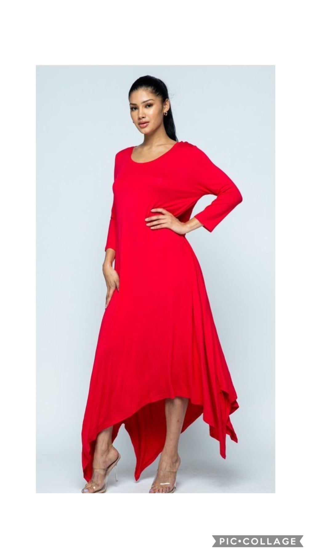 Image of Shark Bite Maxi Dress