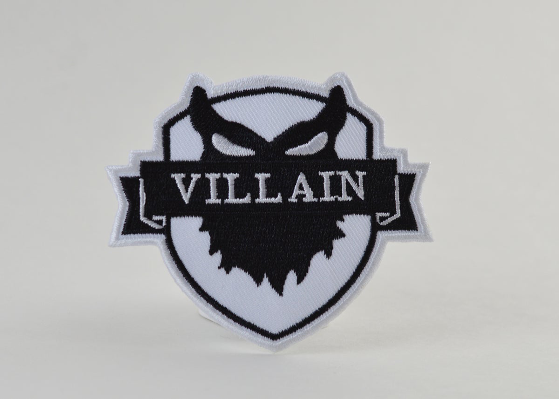 "Image of CLUB PATCH   "" VILLAIN """