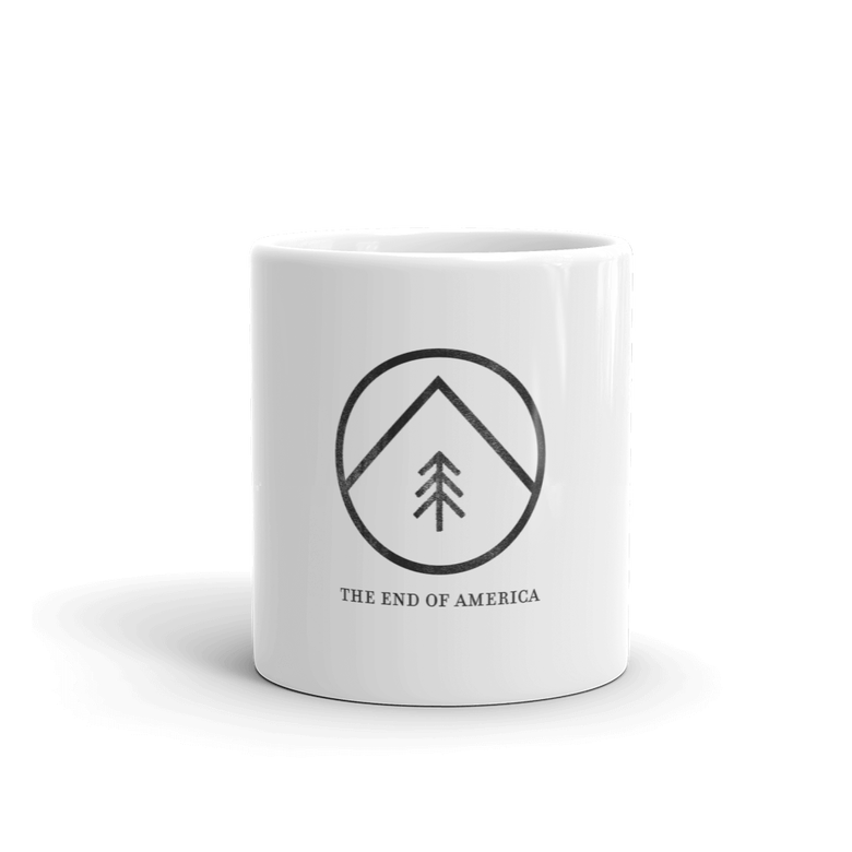 "Image of ""Tree & Mountain"" Logo Mug"