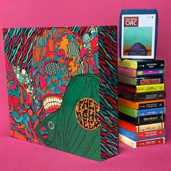 Image of Thee Oh Sees - The 8-Track Collection