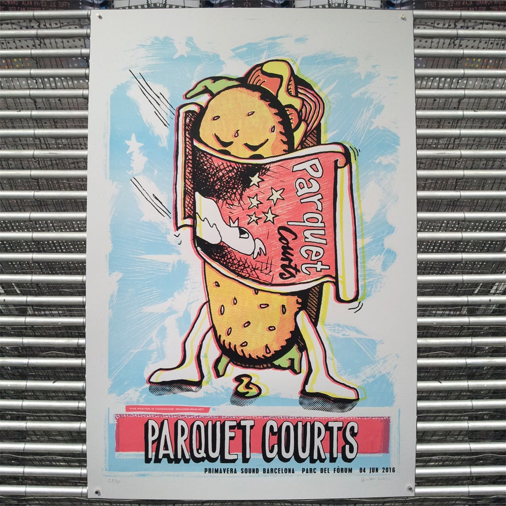 Image of PARQUET COURTS (barcelona 2016)