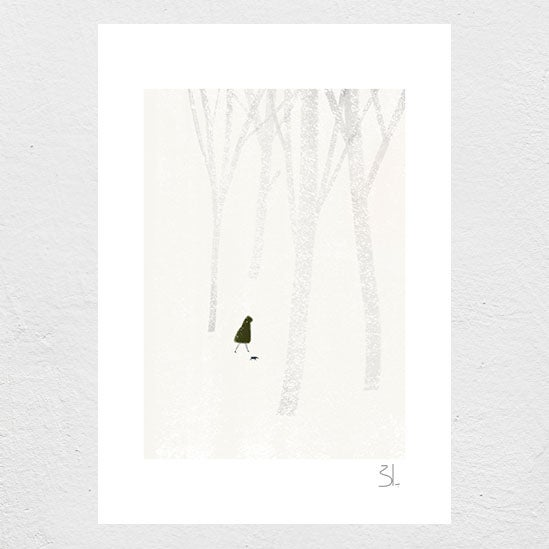 Image of Winter Stroll Print