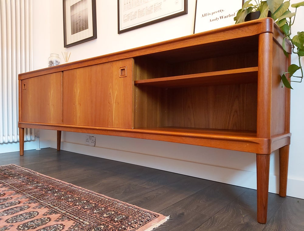 Image of DANISH CREDENZA BY H.W. KLEIN FOR BRAMIN