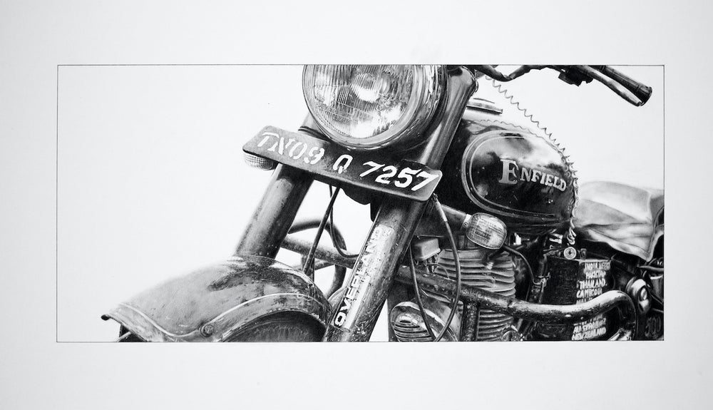 Image of '40,000 Miles of Patina'  Limited Edition Giclée Print