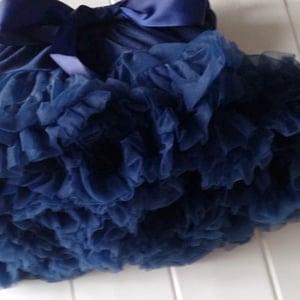 Image of Navy Tutu Skirt