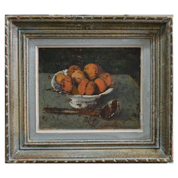 Image of 1930 French Painting, 'Apricots.'