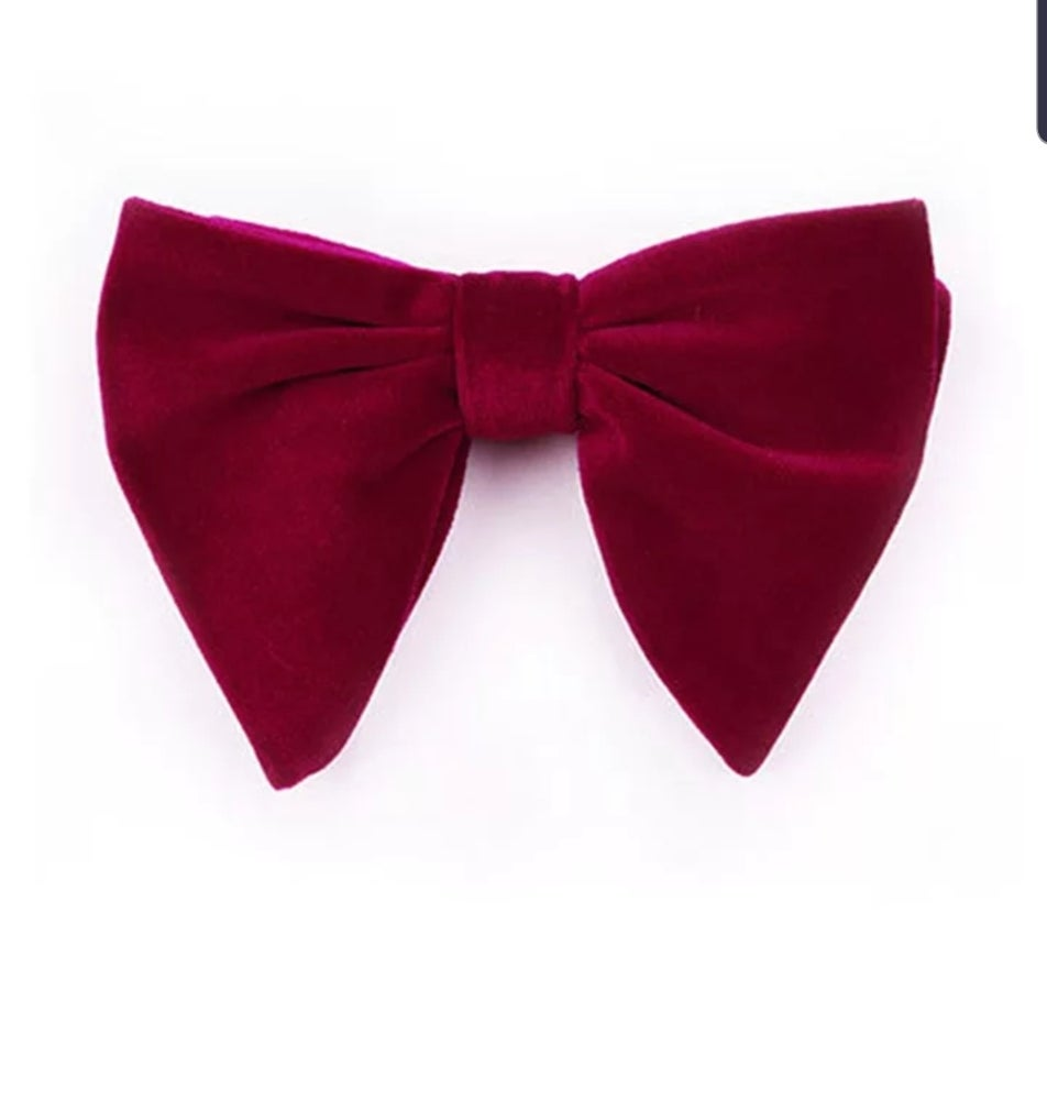 Image of BIG VELVET BOWTIE