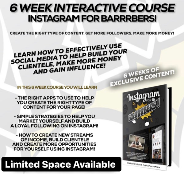 Image of @ItsMarvyMarv 6 Week Social Media Marketing Course!