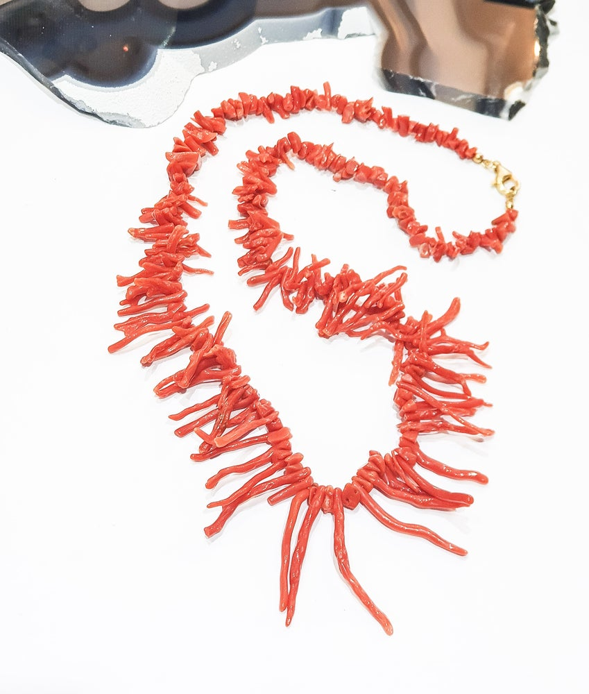 Image of Italian Coral Necklace