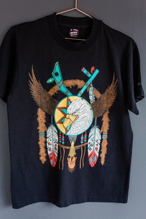 Image of Eagle VS Feathers Tee