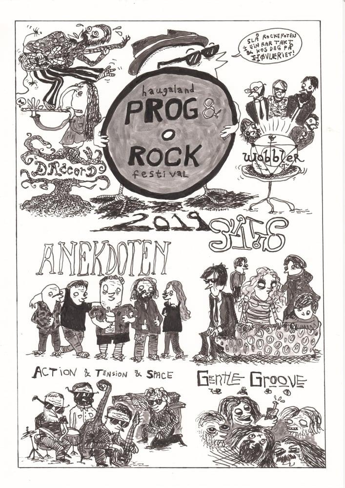 Image of PROG ROCK (A3-Print)
