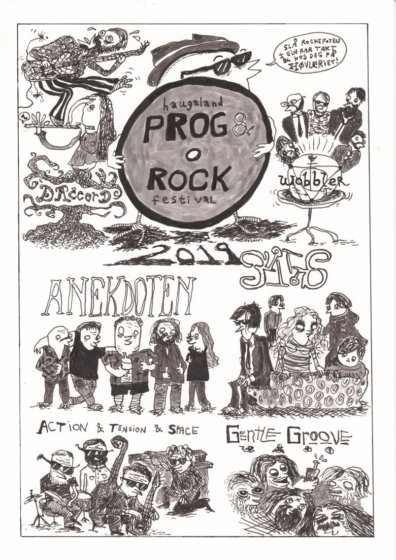 Image of PROG ROCK (A3-Print)