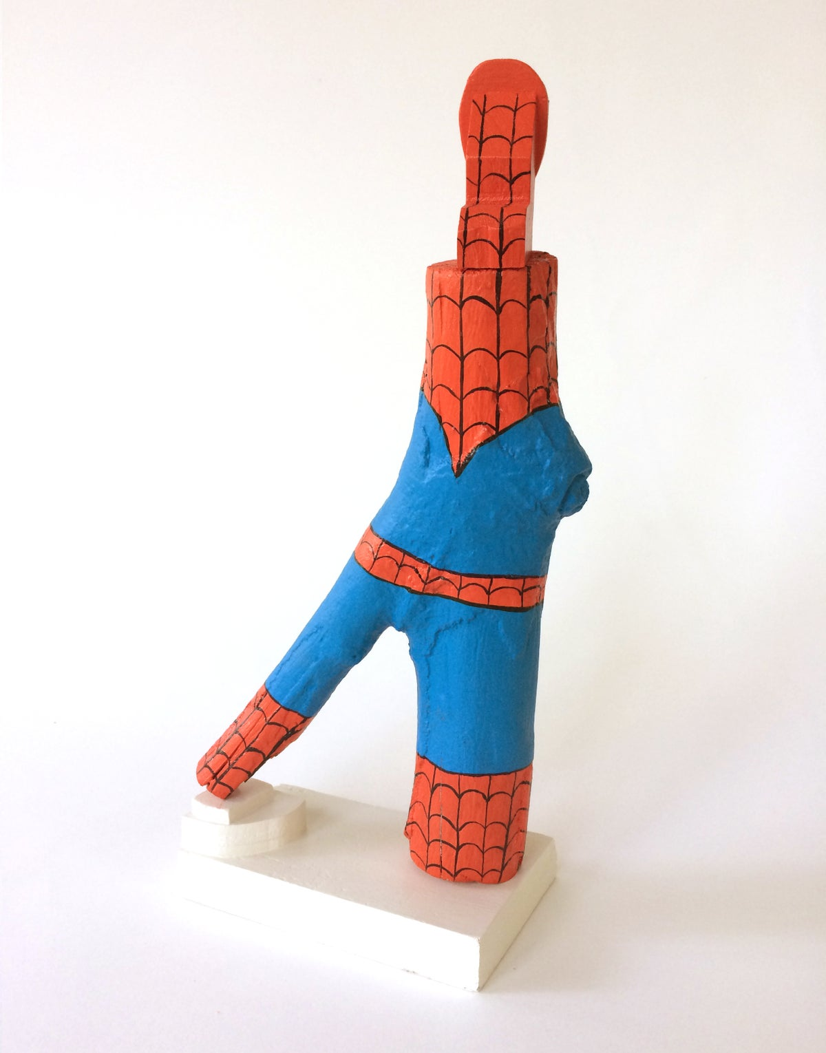 Image of Spider-Man Master Carving