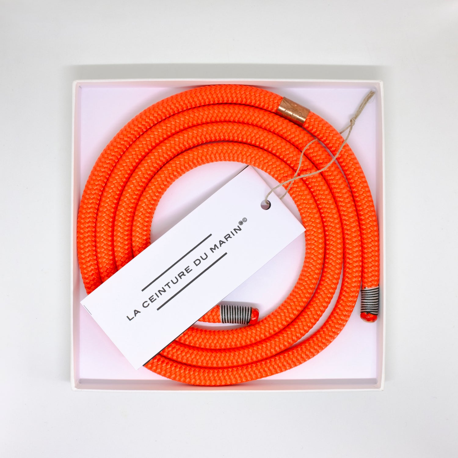 Image of CEINTURE DU MARIN ORANGE FLUO FINE