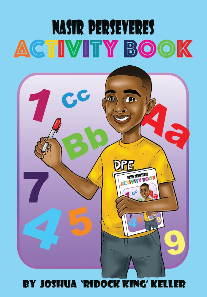 Image of Nasir Perseveres Activity Book
