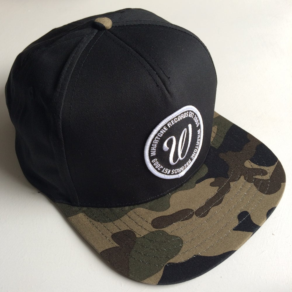 Image of Whartone Records Camo Snapback