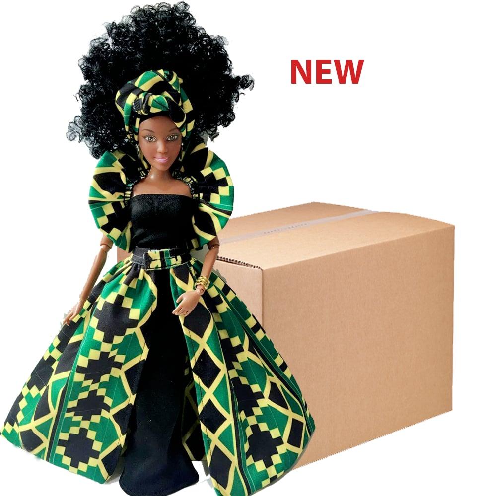 Image of Box of 20 Nana Maroon Dolls