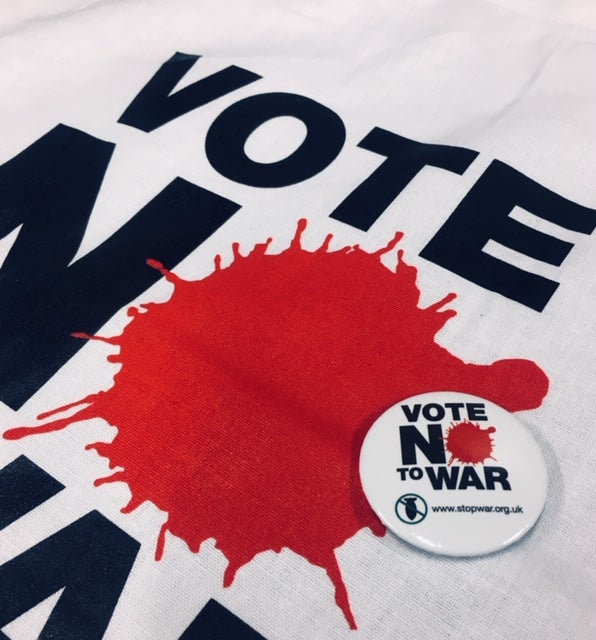 Image of Vote No To War T-Shirt