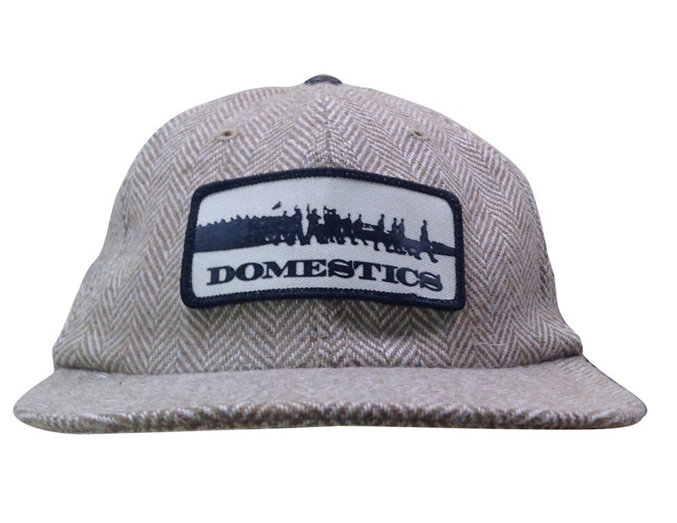 Image of DOMEstics MADE IN USA Wool Herringbone hat