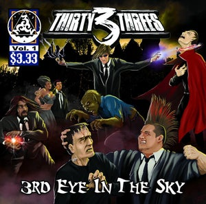 Image of Thirty 3 Threes - 3rd Eye In The Sky LP (2010)