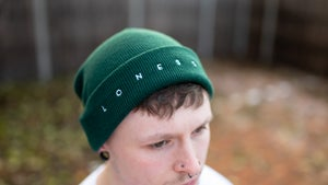 Image of Lonesome Beanie (Bottle Green)