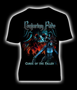 Image of Conjuring Fate - Curse Of The Fallen t-shirt