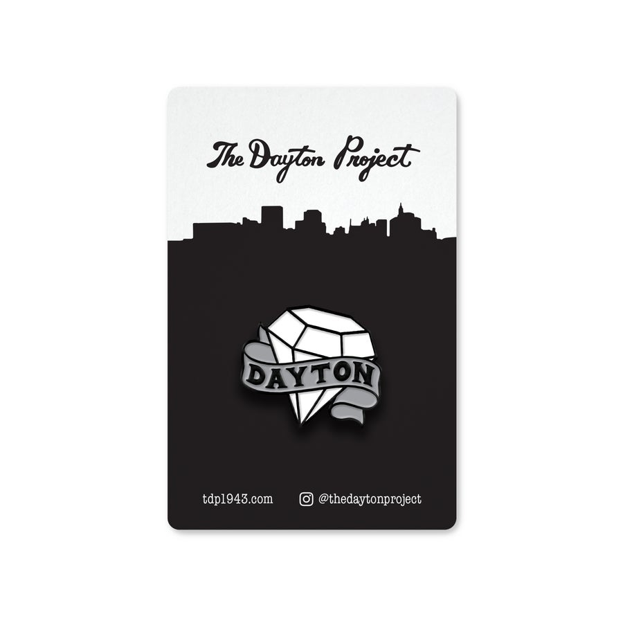 Image of Dayton Gem Pin