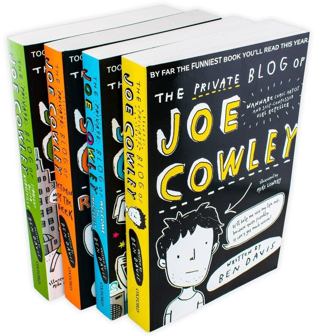 Image of The Private Blog of Joe Cowley - SIGNED AND PERSONALISED