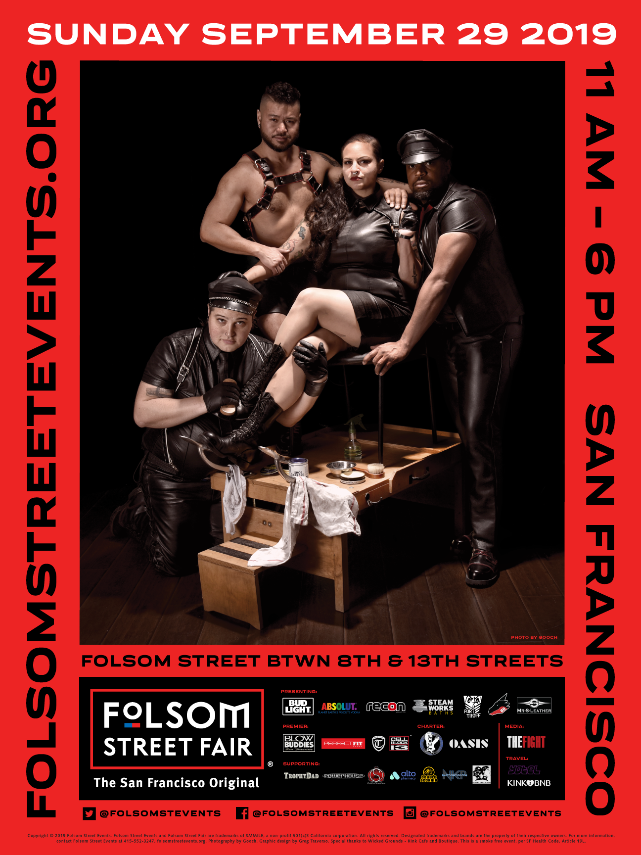 Image of 2019 Folsom Street Fair Poster