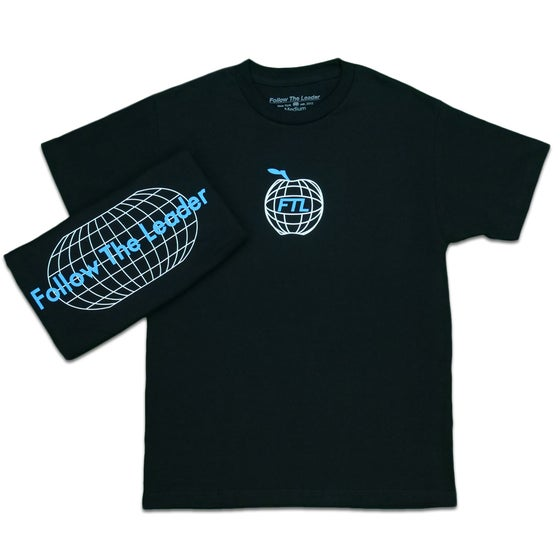 Image of Apple World Tee (Black)
