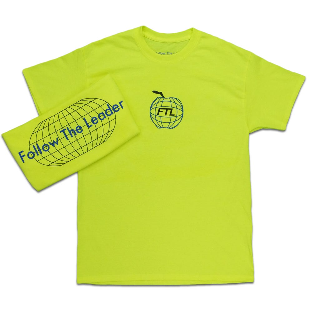 Image of Apple World Tee (Safety Yellow)