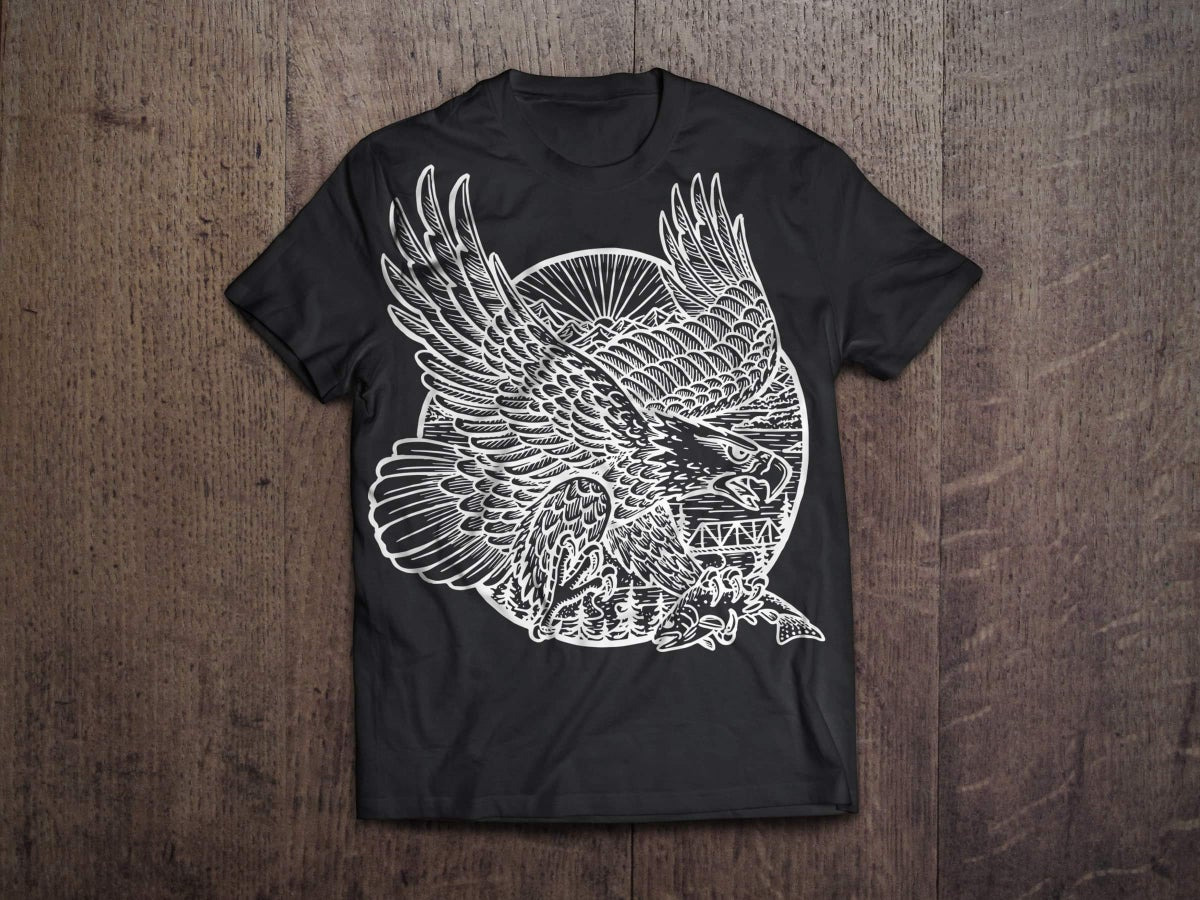Image of NEW! EAGLE SHOP SHIRT!