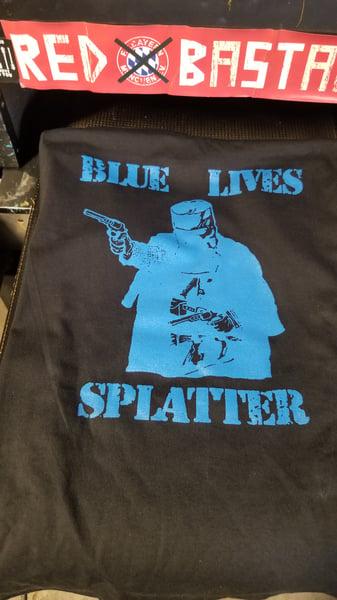 Image of Blue Lives Splatter
