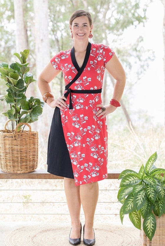 Image of Gwyllem Wasabi dress - magnolia