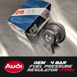 Image of BOSCH - OEM 4 Bar Fuel Pressure Regulator FPR 2.7/1.8