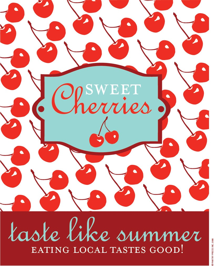 Image of Sweet Cherries Poster