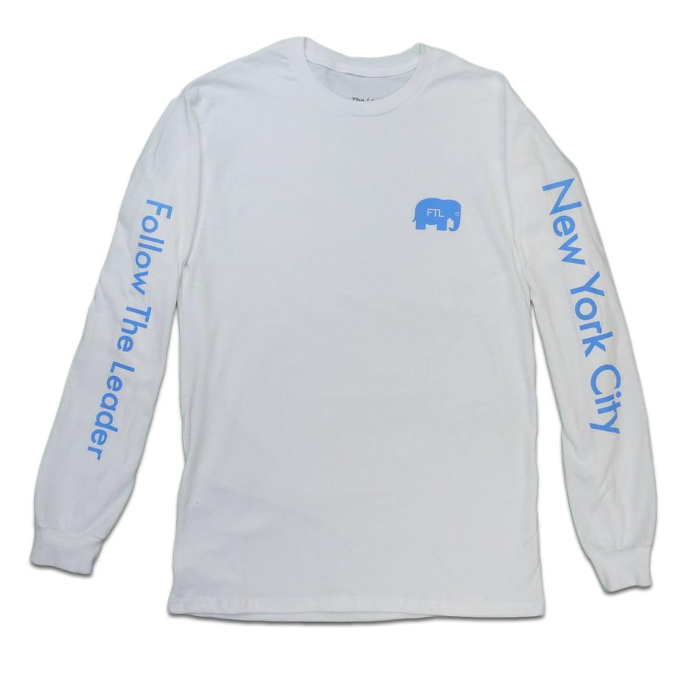 Image of Elephant Long Sleeve (White)