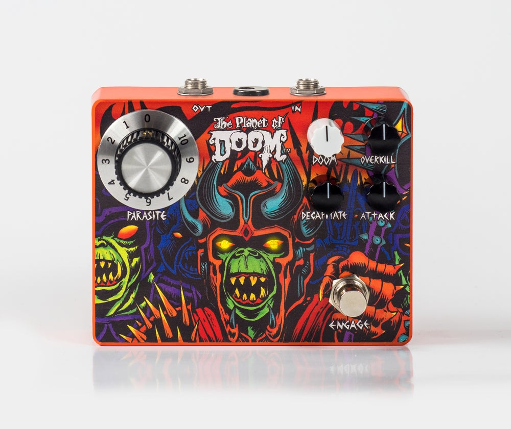Image of Planet of Doom FX pedal by IT'S ELECTRIC! (Pre-Order)