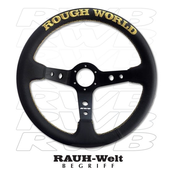 Image of RWB Leather Steering Wheel V3