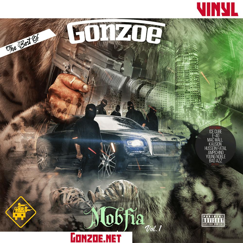"Image of MOBfia Vol.1 The Best Of Gonzoe 12"" Vinyl"