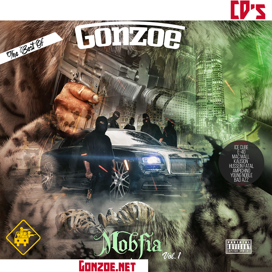 Image of MOBfia vol.1 The Best Of Gonzoe CD