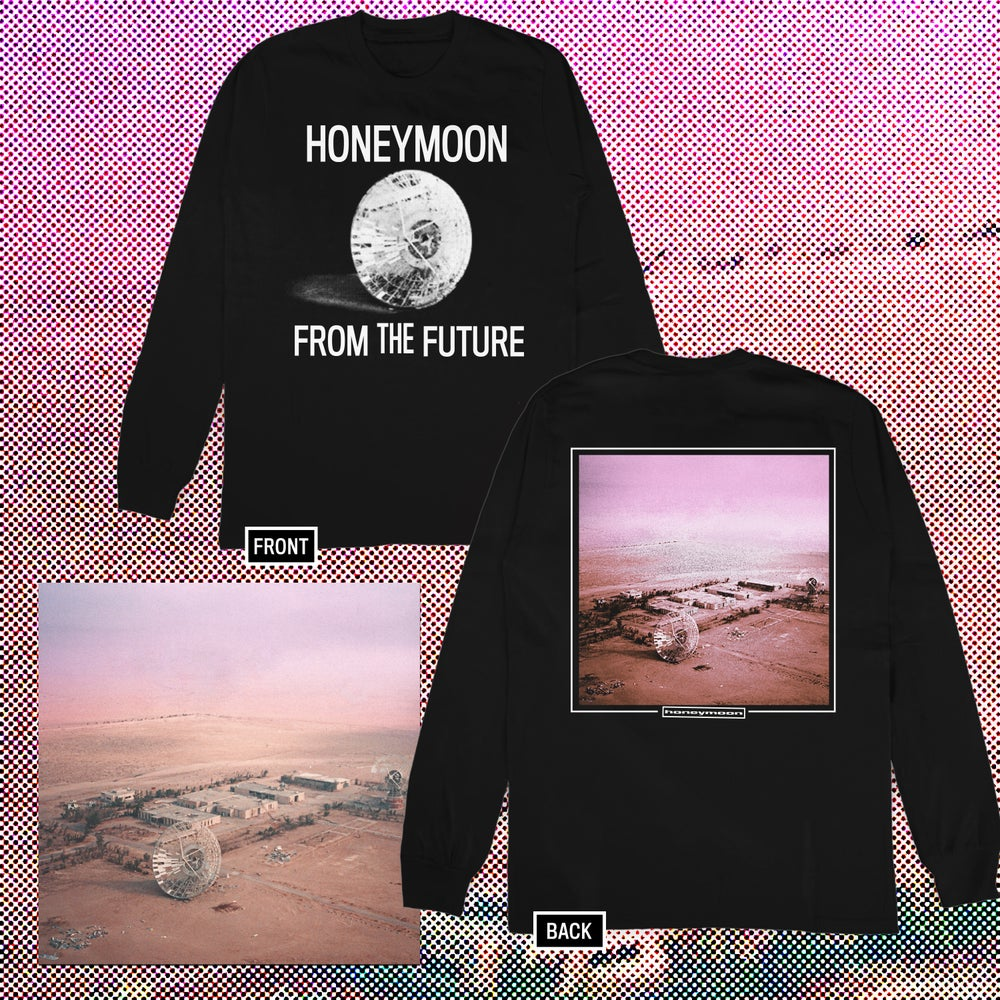 Image of Honeymoon - From The Future LP + Shirt Bundle