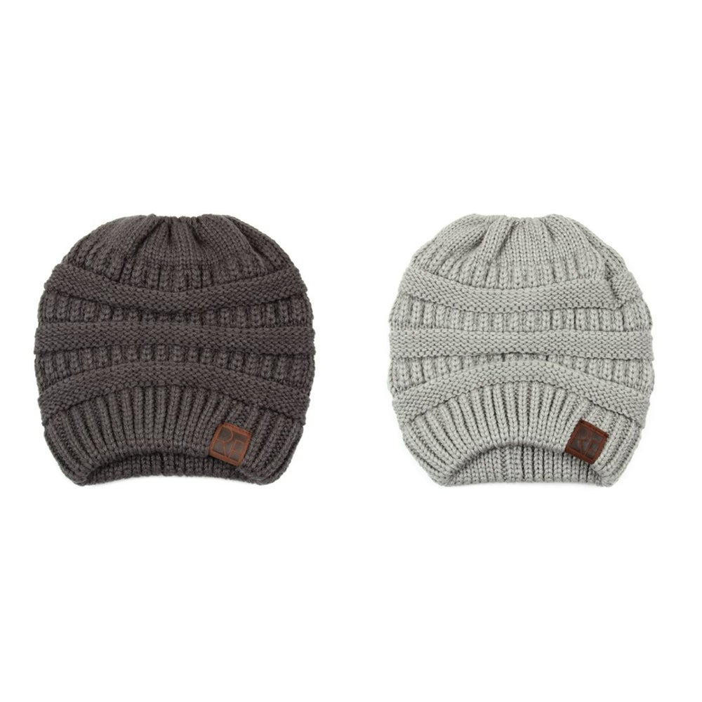 Image of Adult's Knitted Beanies