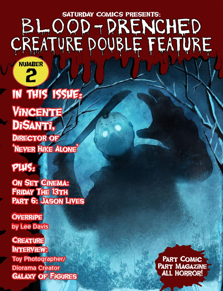 Image of Blood-Drenched Creature Double Feature #2 (with stickers)