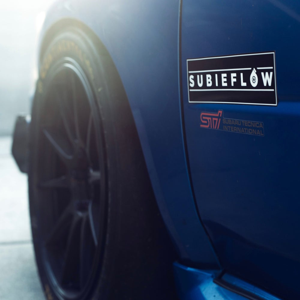 Image of SubieFlow Slap Sticker
