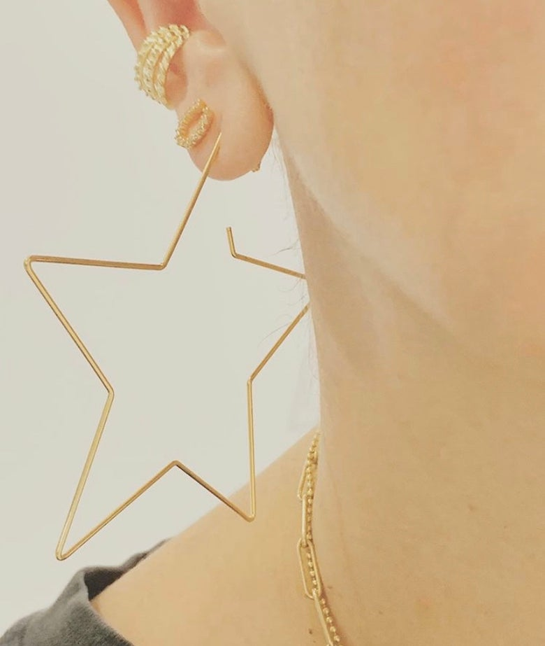 Image of Star wired hoops