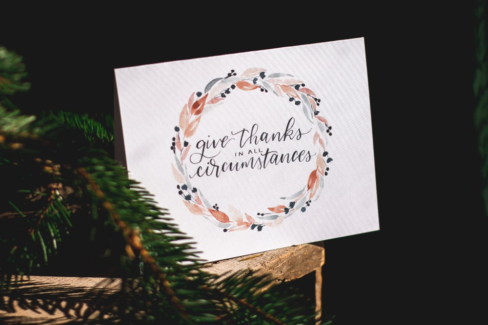 Image of GIVE THANKS cards